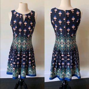 NWOT Gabby & Skye Printed Skater Dress